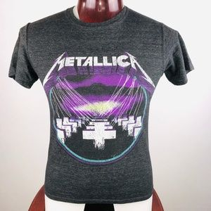 Metallica Master Of Puppets Logo S Graphic T Shirt